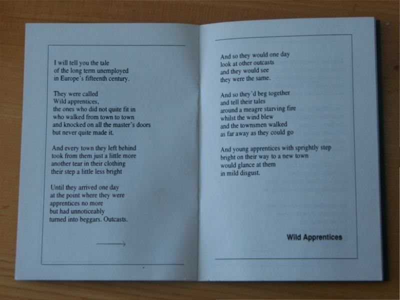 Fairy Tales Poetry Book Poem Wild Apprentices