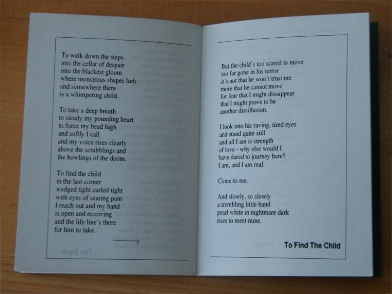Fairy Tales Poetry Book Poem To Find The Child