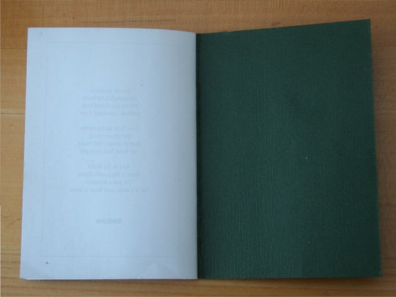Fairy Tales Poetry Book Blank last page