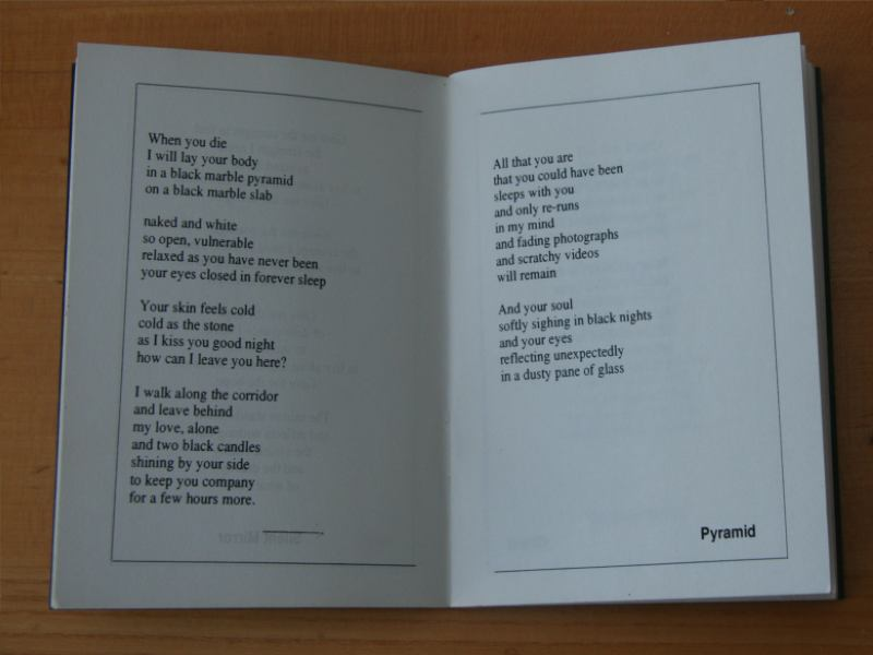 Fairy Tales 1994 - A Small Book Of Poems