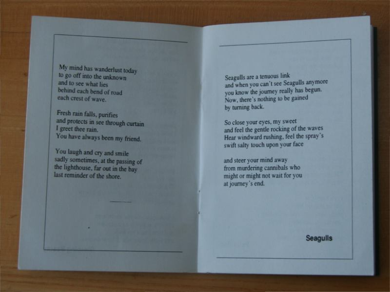 Fairy Tales Poetry Book Poem Seagulls