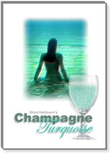Hypnosis Weight Loss with Lady Hypnotist Silvia Hartmann's Champagne Turquoise