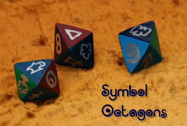 symbol eight sided dice