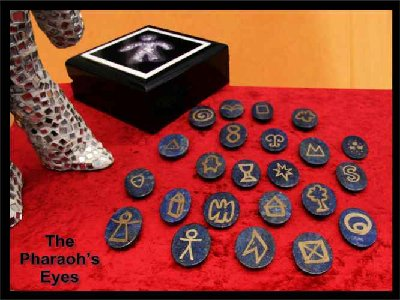 Lapis symbol set called The Pharaoh's eyes