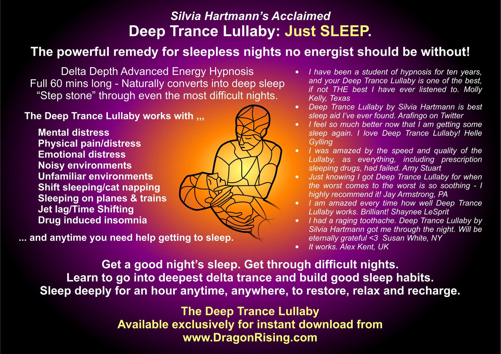 Hypnosis Sleep Instant Download